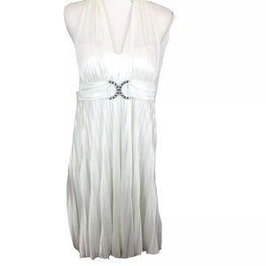 Halloween Marilyn Monroe White Dress XL